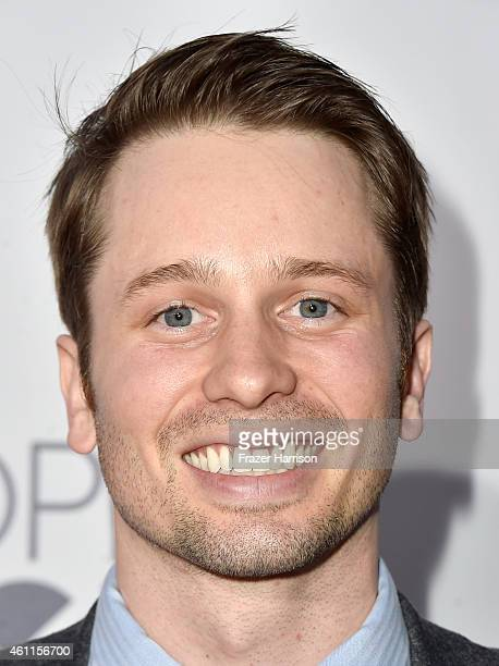 Actor Tyler Ritter attends The 41st Annual People's Choice Awards at Nokia Theatre LA Live on January 7 2015 in Los Angeles California