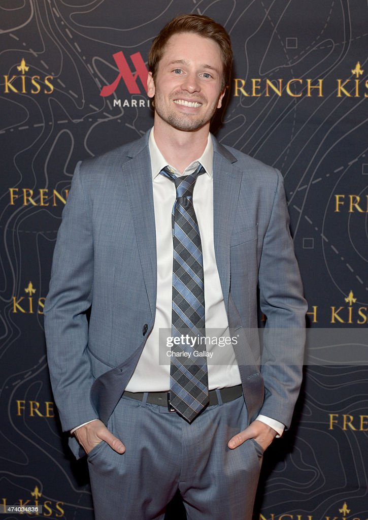 Actor Tyler Ritter attends The Marriott Content Studio's 'French Kiss' film premiere at the Marina del Rey Marriott on May 19, 2015 in Marina del Rey, California.