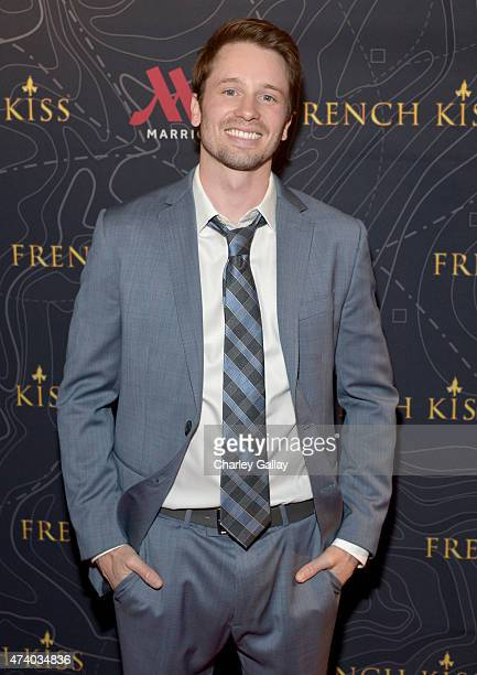 Actor Tyler Ritter attends The Marriott Content Studio's French Kiss film premiere at the Marina del Rey Marriott on May 19 2015 in Marina del Rey...