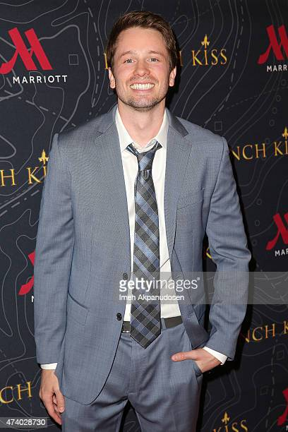 Actor Tyler Ritter attends the premiere of 'French Kiss' at Marina del Rey Marriott on May 19 2015 in Marina del Rey California