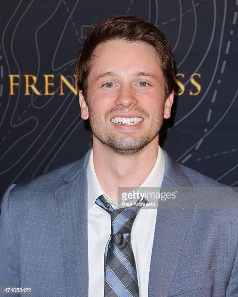 Actor Tyler Ritter attends the premiere of French Kiss at The Marina del Rey Marriott on May 19 2015 in Marina del Rey California