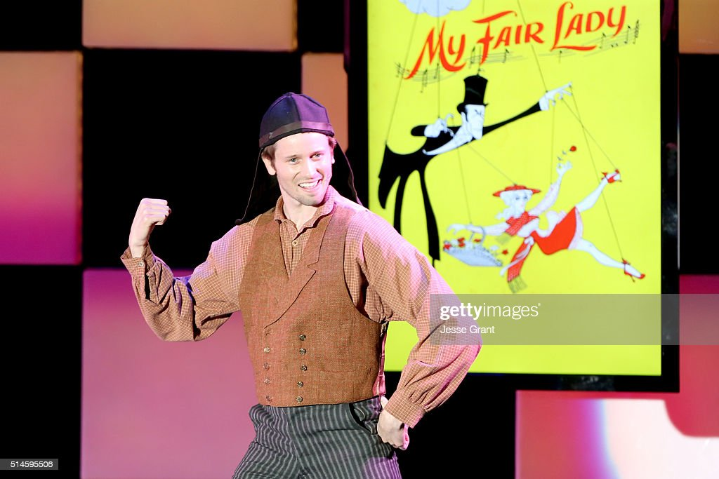 Actor Tyler Ritter performs onstage during the 24th and final 'A Night at Sardi's' to benefit the Alzheimer's Association at The Beverly Hilton Hotel on March 9, 2016 in Beverly Hills, California.