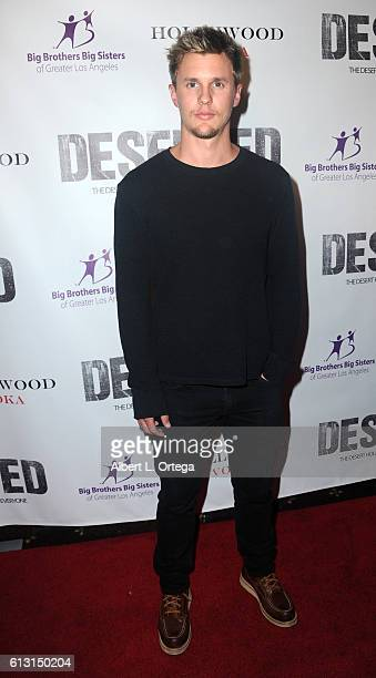 Actor Tyler Sellers arrives for the Premiere Of Winterstone Pictures' 'Deserted' held at Majestic Crest Theatre on October 6 2016 in Los Angeles...