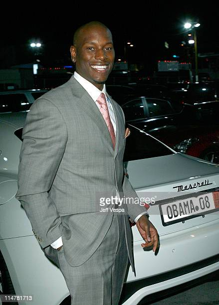 Actor Tyrese Gibson arrives at Global Green USA's 6th Annual Pre-Oscar Party held at Avalon Hollwood on Februray 19, 2009 in Hollywood, California.