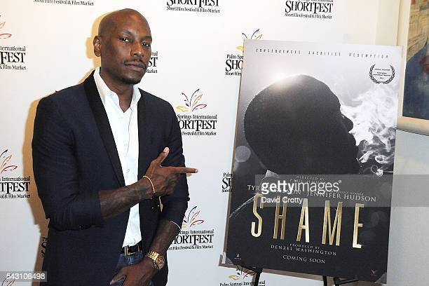 Actor Tyrese Gibson attends the 2016 Palm Springs International ShortFest on June 25 2016 in Palm Springs California