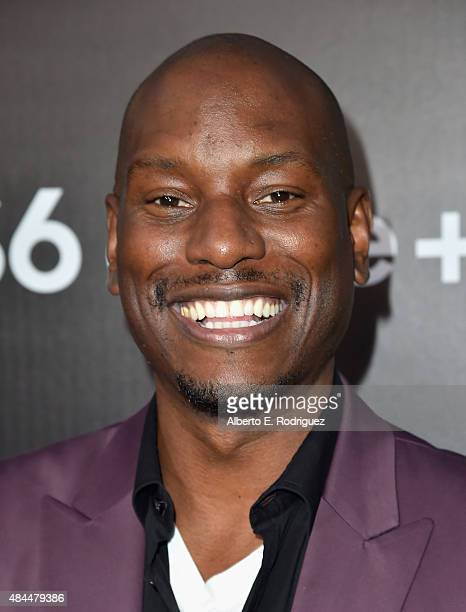 Actor Tyrese Gibson attends the Samsung Galaxy S6 Edge Plus and Note 5 Launch party on August 18 2015 in West Hollywood California