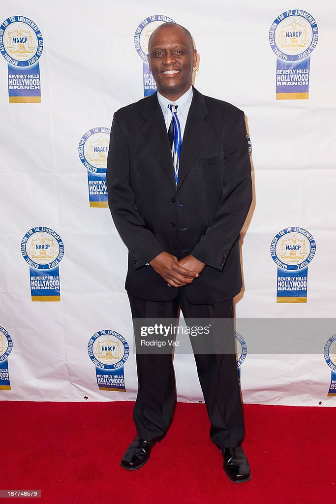 Actor Tyrone DuBose attends the 23rd Annual NAACP Theatre Awards at Saban Theatre on November 11, 2013 in Beverly Hills, California.