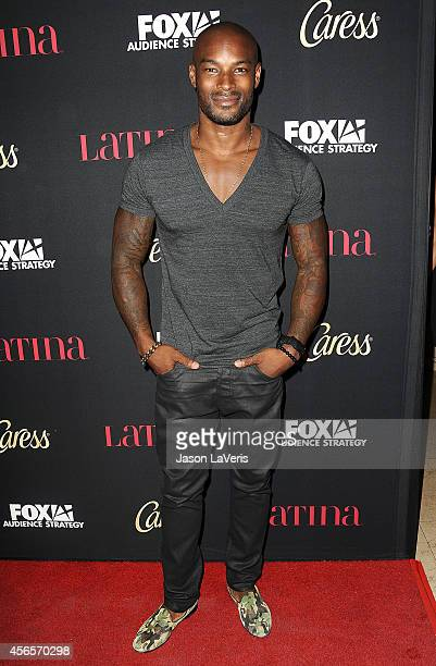Actor Tyson Beckford attends the Latina Magazine 'Hollywood Hot List' party at Sunset Tower Hotel on October 2 2014 in West Hollywood California