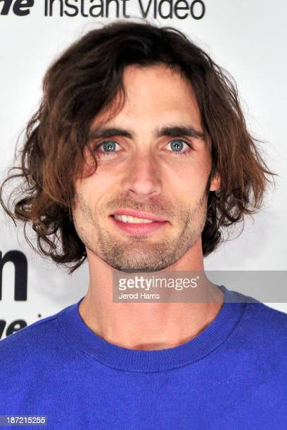 Actor Tyson Ritter arrives at Amazoncom red carpet launch party for Alpha House and Betas Los Angeles Premieres at Boulevard3 on November 6 2013 in...