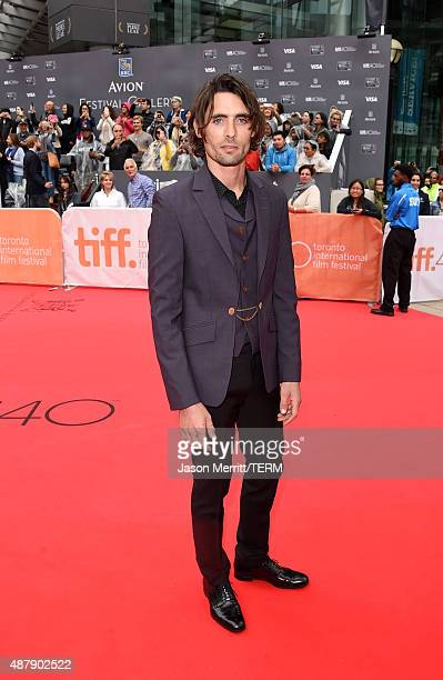 Actor Tyson Ritter attends the 'Miss You Already' premiere during the 2015 Toronto International Film Festival at Roy Thomson Hall on September 12...