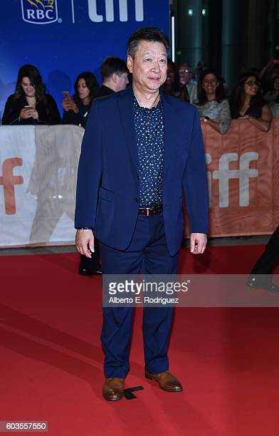 Actor Tzi Ma attends the 'Arrival' premiere during the 2016 Toronto International Film Festival at Roy Thomson Hall on September 12 2016 in Toronto...