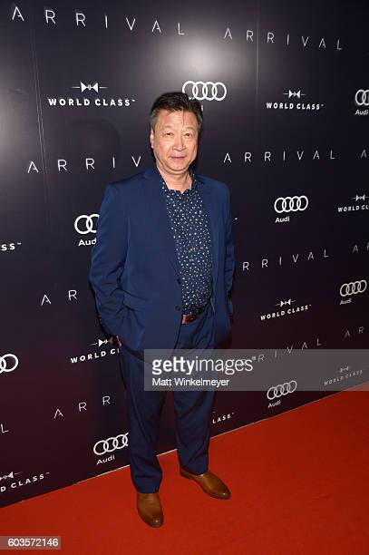 Actor Tzi Ma attends the 'Arrival' premiere screening party presented by Johnnie Walker at Storys Building on September 12 2016 in Toronto Canada