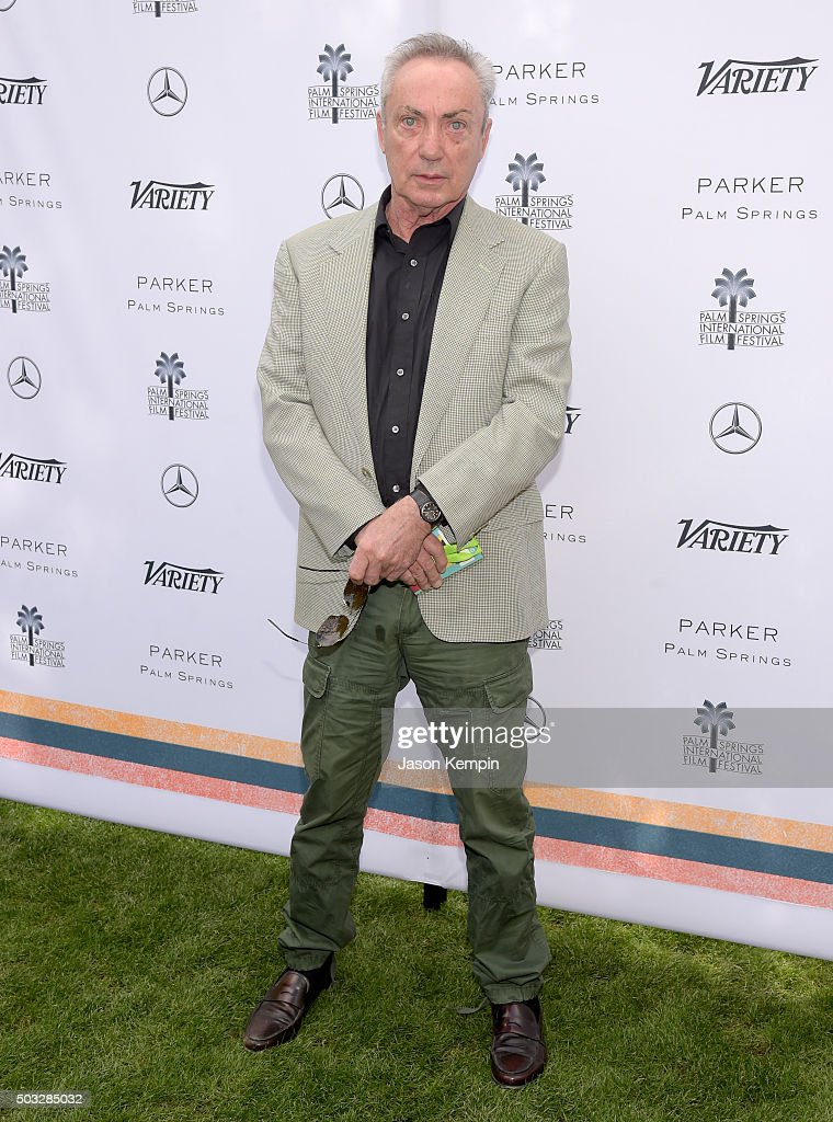 Actor Udo Kier attends Variety's Creative Impact Awards and 10 Directors to Watch Brunch Presented By Mercedes-Benz at The 27th Annual Palm Springs International Film Festival on January 3, 2016 in Palm Springs, California.