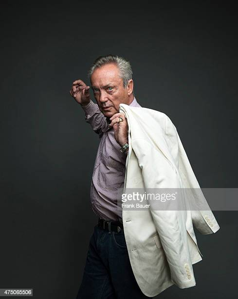 Actor Udo Kier is photographed for Sonntags Zeitung on June 28 2014 in Munich Germany