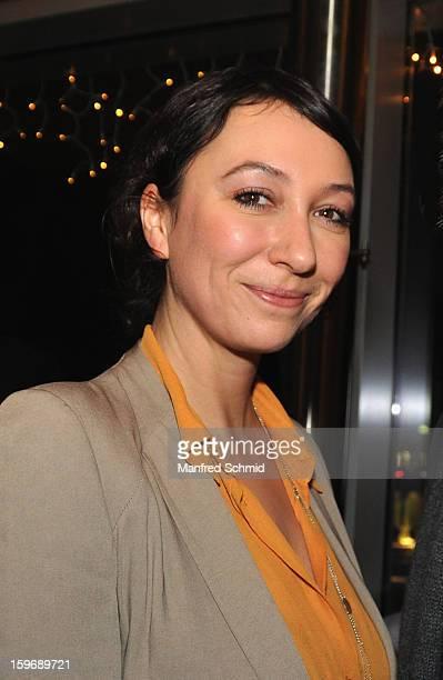 Actor Ursula Strauss attends 'Der Fall Wilhelm Reich' Austria Premiere at Urania Cinema on January 15 2013 in Vienna Austria