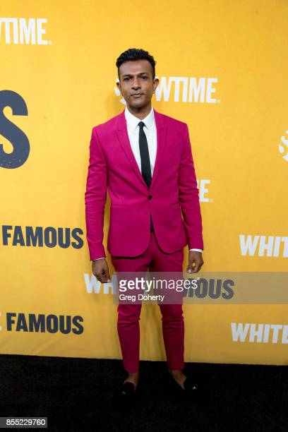 Actor Utkarsh Ambudkar attends the Premiere Of Showtime's 'White Famous' at The Jeremy Hotel on September 27 2017 in West Hollywood California