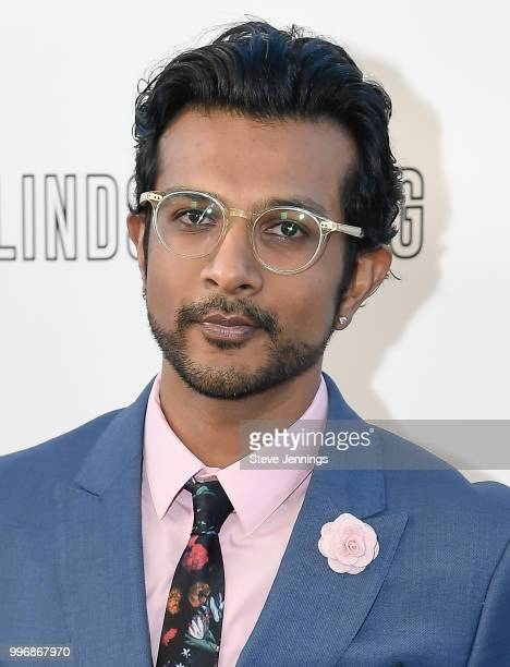 Actor Utkarsh Ambudkar attends the Premiere of Summit Entertainment's 'Blindspotting' at The Grand Lake Theater on July 11 2018 in Oakland California