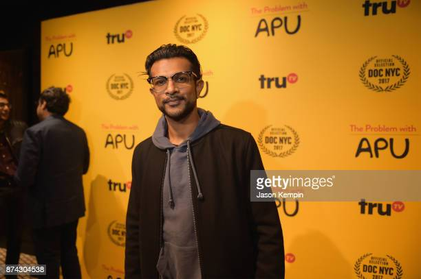 Actor Utkarsh Ambudkar attends truTV Presents 'The Problem With Apu' DOC NYC screening and reception on November 14 2017 in New York City 27466_001