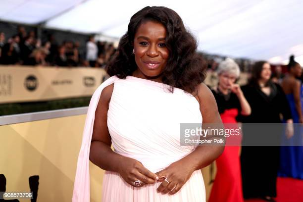 Actor Uzo Aduba attends the 24th Annual Screen Actors Guild Awards at The Shrine Auditorium on January 21 2018 in Los Angeles California 27522_010