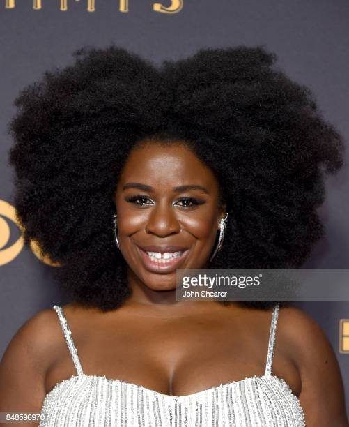 Actor Uzo Aduba attends the 69th Annual Primetime Emmy Awards at Microsoft Theater on September 17 2017 in Los Angeles California