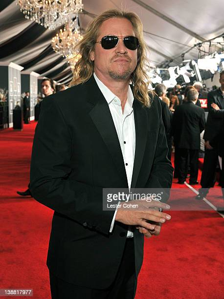 Actor Val Kilmer arrives at The 54th Annual GRAMMY Awards at Staples Center on February 12 2012 in Los Angeles California
