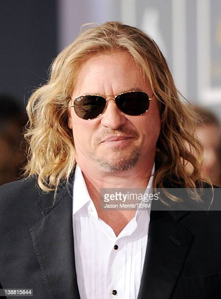 Actor Val Kilmer arrives at the 54th Annual GRAMMY Awards held at Staples Center on February 12 2012 in Los Angeles California
