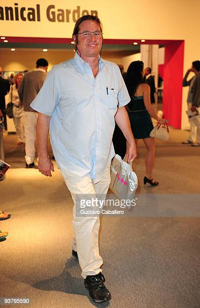 Actor Val Kilmer attends Art Basel Miami at the Miami Beach Convention Center on December 3 2009 in Miami Beach Florida