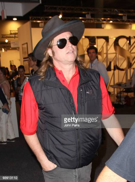 Actor Val Kilmer attends Art Basel Miami at the Miami Beach Convention Center on December 4 2009 in Miami Beach Florida