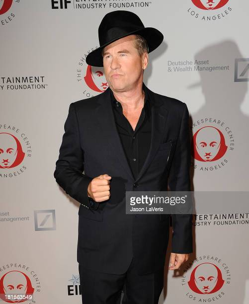 Actor Val Kilmer attends the 23rd annual Simply Shakespeare benefit reading of 'The Two Gentlemen of Verona' at The Eli and Edythe Broad Stage on...