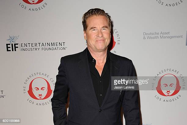 Actor Val Kilmer attends the 23rd annual Simply Shakespeare benefit reading of The Two Gentlemen of Verona at The Eli and Edythe Broad Stage on...
