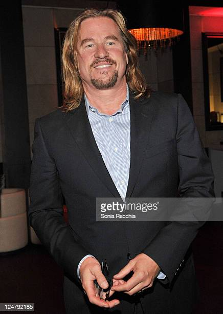 """Actor Val Kilmer attends the """"Twixt"""" After Party at Thompson Hotel during the 2011 Toronto International Film Festival on September 12, 2011 in..."""