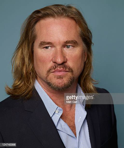 Actor Val Kilmer of 'Twixt' poses during the 2011 Toronto Film Festival at Guess Portrait Studio on September 12 2011 in Toronto Canada