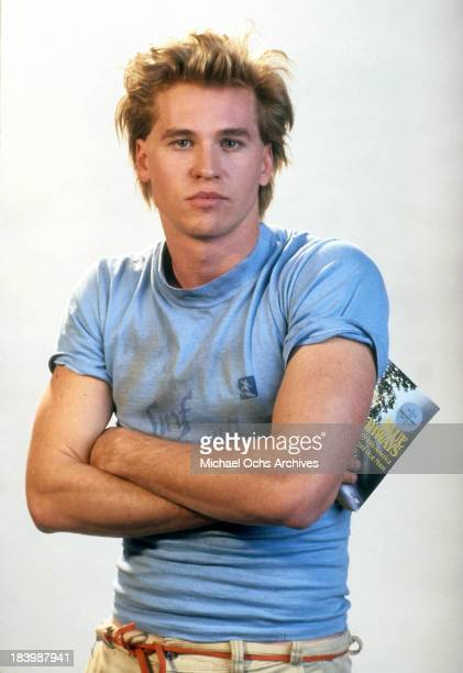 Actor Val Kilmer poses for the Tri Star Pictures movie 'Real Genius' in 1985