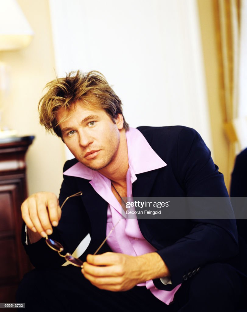 Actor Val Kilmer poses in March 1997 in New York City, New York. (Photo by Deborah Feingold/Getty Images)'r