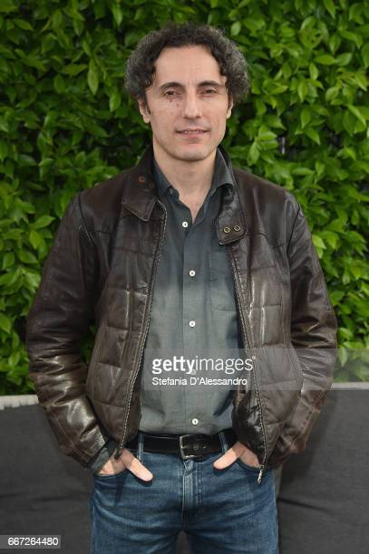 Actor Valerio Aprea attends a photocall for 'Moglie E Marito' on April 11 2017 in Milan Italy