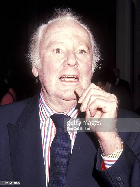 Actor Van Johnson attends the First Annual International Montblanc de la Culture Awards on April 21 1992 at the New York Public Library in New York...