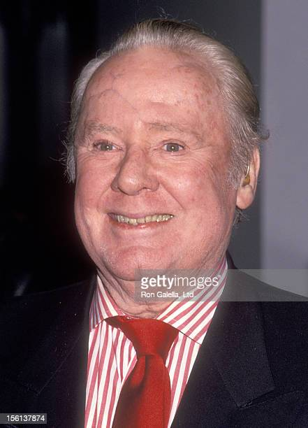 Actor Van Johnson attends the Grand Opening of the Sony Theaters Lincoln Square Featuring the Sony IMAX Theater on November 16 1994 at Sony Theaters...