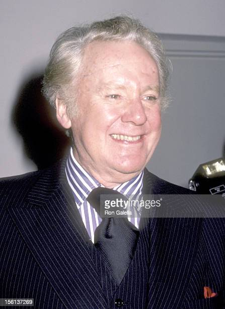 Actor Van Johnson attends the Party to Celebrate Janet Leigh's Book 'There Really Was a Hollywood' on October 30 1984 at The Limelight in New York...