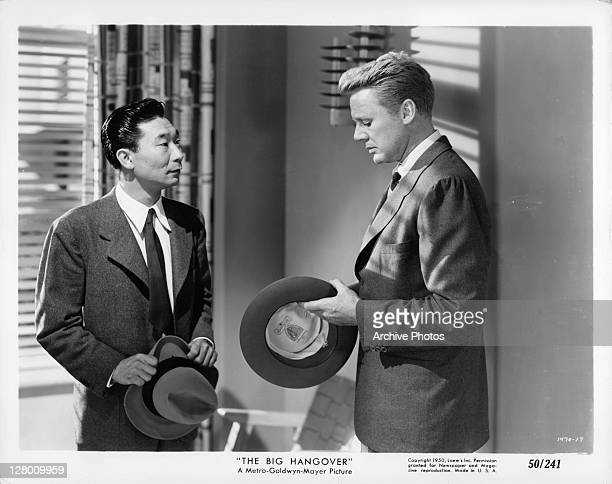 Actor Van Johnson in a scene from the film 'The Big Hangover' 1950