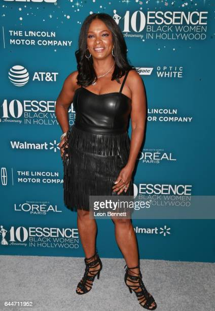 Actor Vanessa Bell Calloway at Essence Black Women in Hollywood Awards at the Beverly Wilshire Four Seasons Hotel on February 23 2017 in Beverly...