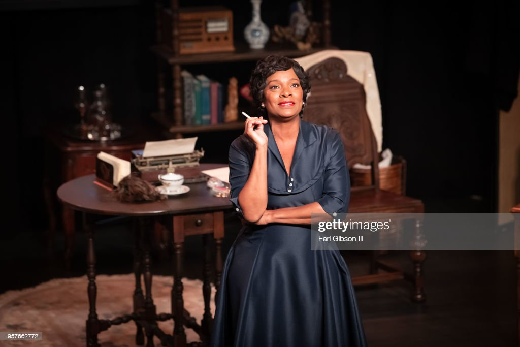 """WACO Theater Center Presents""""Letters From Zora"""" - Opening Night Performance : News Photo"""