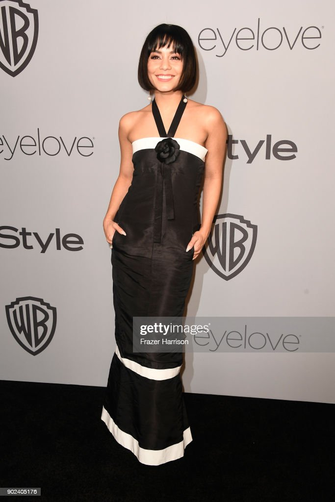Actor Vanessa Hudgens attends the 19th Annual Post-Golden Globes Party hosted by Warner Bros. Pictures and InStyle at The Beverly Hilton Hotel on January 7, 2018 in Beverly Hills, California.