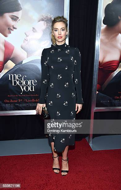 Actor Vanessa Kirby attends 'Me Before You' World Premiere at AMC Loews Lincoln Square 13 theater on May 23 2016 in New York City