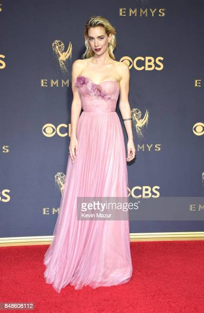 Actor Vanessa Kirby attends the 69th Annual Primetime Emmy Awards at Microsoft Theater on September 17 2017 in Los Angeles California