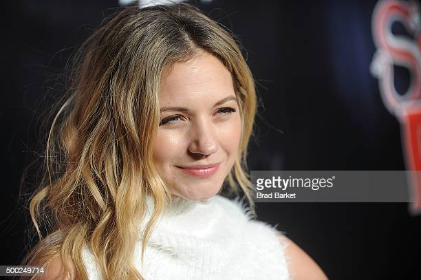 Actor Vanessa Ray attends the School Of Rock Broadway opening night at Winter Garden Theatre on December 6 2015 in New York City