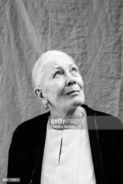 Actor Vanessa Redgrave is photographed on May 18 2017 in Cannes France