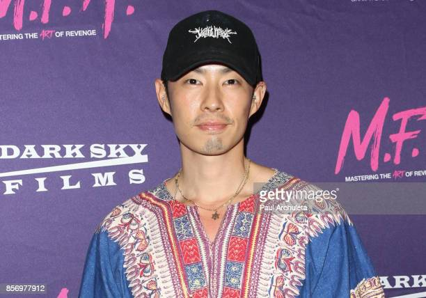 Actor Vanness Wu attends the premiere of Dark Sky Films' 'MFA' at The London West Hollywood on October 2 2017 in West Hollywood California