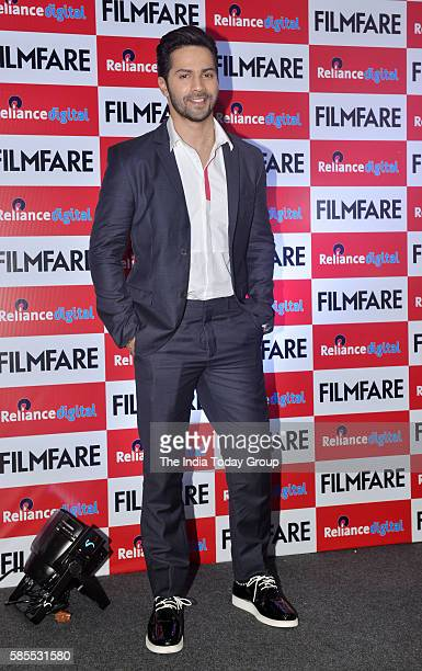 Actor Varun Dhavan during the launch of Filmfare August 2016 cover issue in Mumbai