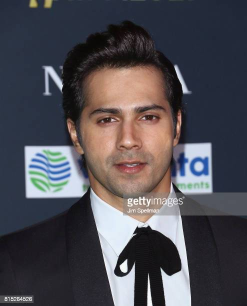 Actor Varun Dhawan attends the 2017 International Indian Film Academy Festival at MetLife Stadium on July 14 2017 in East Rutherford New Jersey