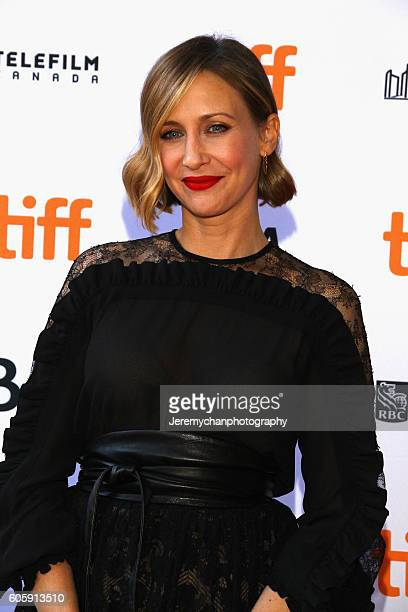 Actor Vera Farmiga attends the Burn Your Maps premiere held at Ryerson Theatre during the Toronto International Film Festival on September 15 2016 in...